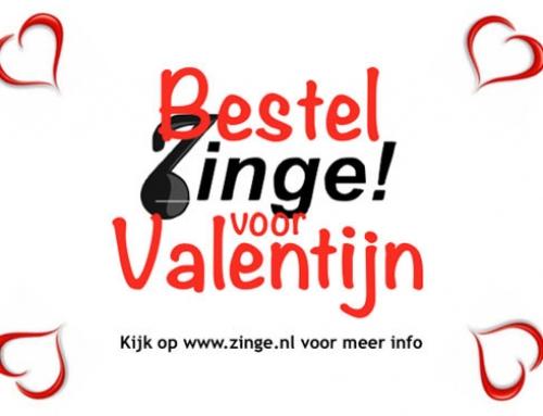 Psssst….. We gaan dit jaar weer Valentijns-Zinge!